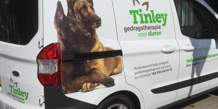 Tinley geplakt met 3M480 Envision