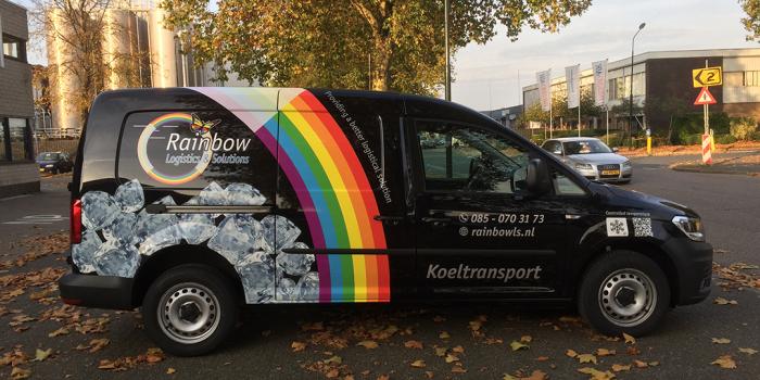 Rainbow gekoeld de weg op!